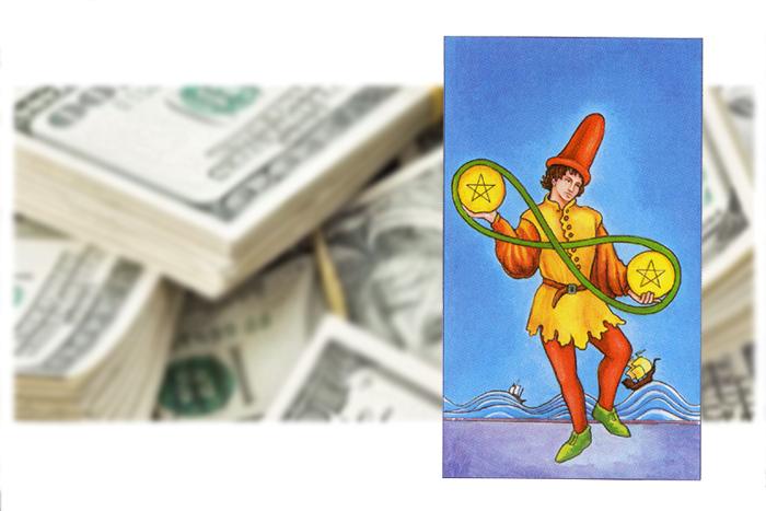 деньги и таро